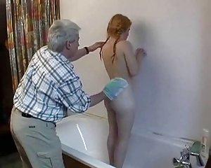 Pappa med hårig tonåring svensk porr se